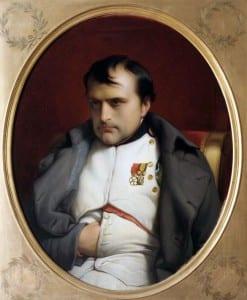 П.Деларош.Наполеон в Фонтенбло. 1845