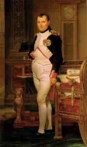 Жак Луи Давид. Наполеон в своем кабинете. 1845