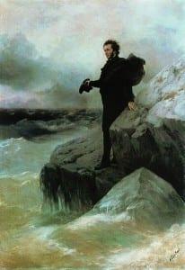 И.Айвазовский. Прощание Пушкина с Чёрным морем. 1887