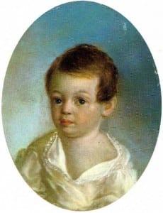 "Ксавье де Местр. ""Пушкин-ребенок"". 1801-1802"