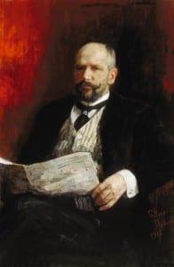 И.Репин. Портрет П.А.Столыпина. 1910