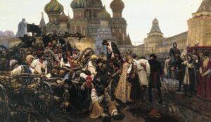 В.Суриков. Утро стрелецкой казни. 1881