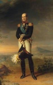 Джордж Доу. М.Б. Барклай-де-Толли. Фрагмент картины. 1825