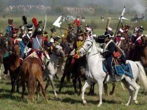 Всадники на Бородинском поле