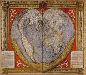 Карта Оронтеуса Финиуса, 1531 г.