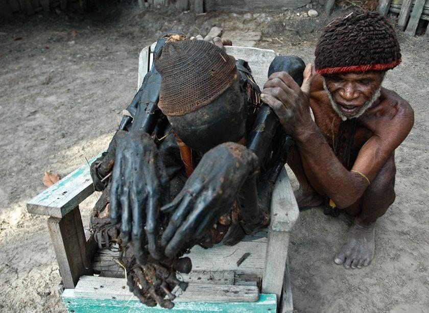 Ритуалы с мумиями