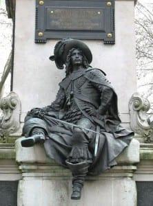 Памятник д`Артаньяну в Париже