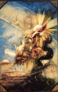 Падение Фаэтона. Гюстав Моро. 1878-79 гг.