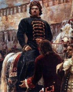 В.Суриков. Пётр I