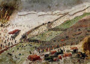 Алексис Седу. Война 1812 года бросает европейские силы против русского царя Александра I