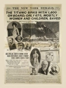 Сообщение о гибели Титаника