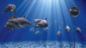 Военные дельфины