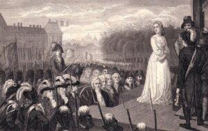 Казнь Марии Антуанетты в 1793