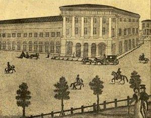 Дом купца Варгина, в котором в 1824 году открылся Малый театр