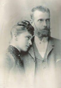 Елизавета Федоровна и Сергей Александрович. 1880