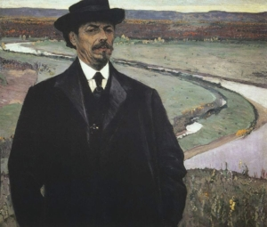 Михаил Нестеров. Автопортрет. 1915