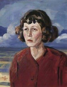 М.Сарьян. Портрет поэтессы М.Петровых. 1946