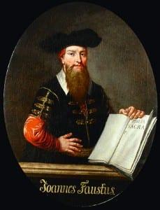 Портрет Фауста анонимного немецкого художника XVII столетия