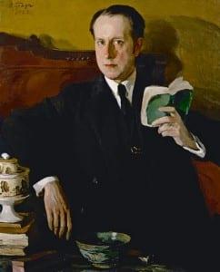О. Браз. Портрет М. Добужинского. 1922 год.
