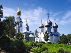 Храмы на реке Вологде