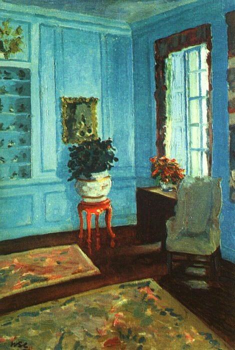 Голубая комната. Уинстон Черчилль