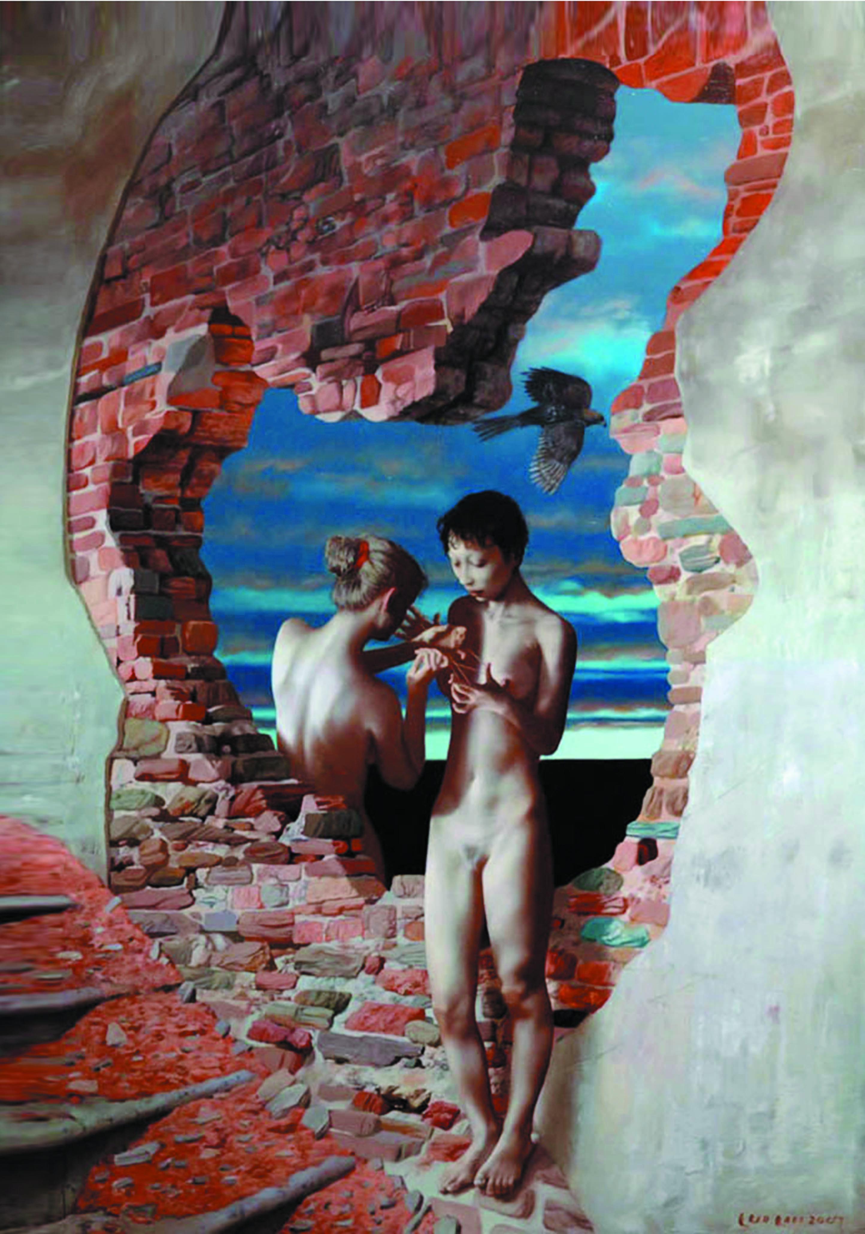 Эротическая живопись китая 16 фотография