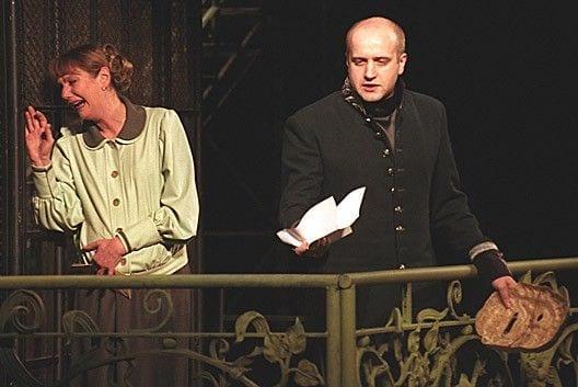 """Сцена из спектакля """"Живой труп"""". Постановка В.Фокина. 2006"""
