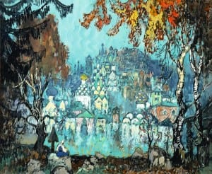 Утонувший город. Константин Горбатов. 1933 г.