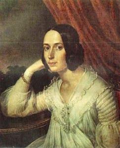 К.Рейхтель. Наталья Герцен. 1842