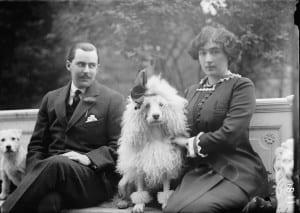 Эдвард и Эвелин Маклин, владельцы бриллианта в начале XX века. 1912