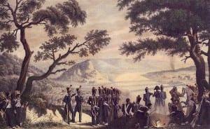 Христиан Вильгельм Фабер дю Фор. На берегу Немана, 25 июня 1812 г.