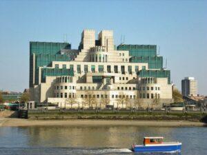 Здание Секретной разведывательной службы (СИС) Великобритании