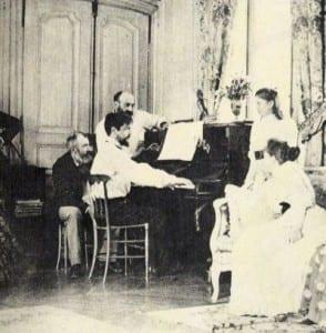 Дебюсси за пианино. 1983