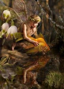 Девочка с рыбкой