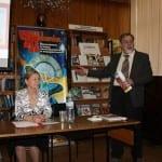 <b>Встреча читателей Солнечногорской библиотеки с автором &quot;ЧиП&quot; Александром Зинковским</b>