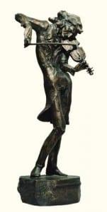 Никколо Паганини. Скульптор Карэн Саркисов.