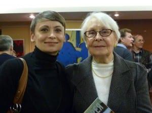 Мария Ивановна Лифарь с дочерью Еленой