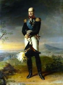 Джордж Доу. Потрет Барклая-де-Толли. 1820
