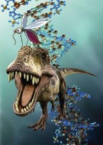 Динозавр из комара