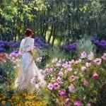 Ричард Джонсон. В саду