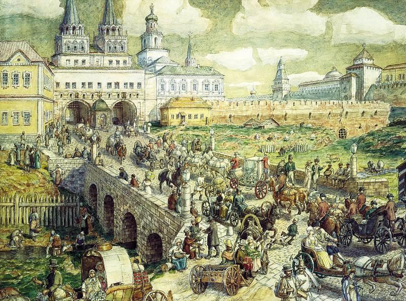 История москвы картинки, драка рисунок фон