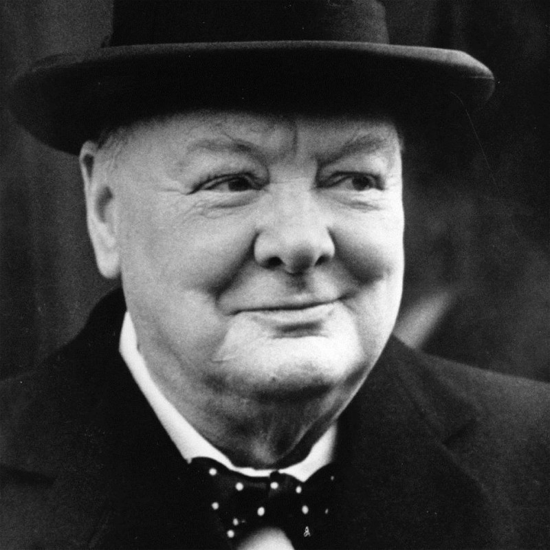 william churchill s role in british