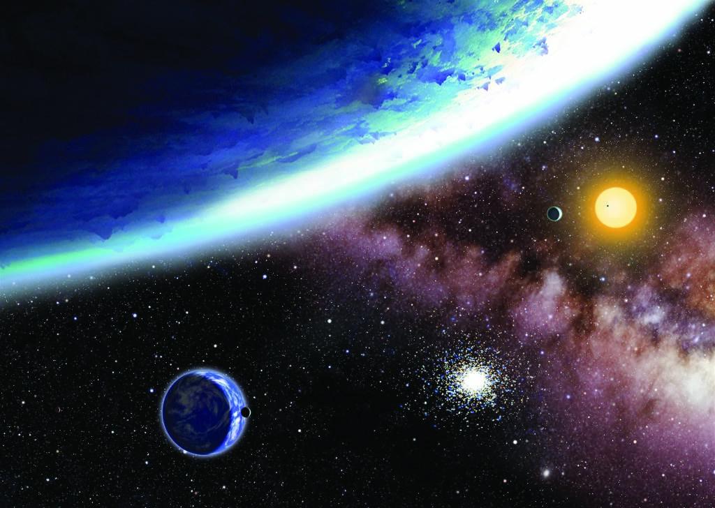 Экзопланеты Kepler-62f и Kepler-62e