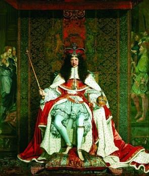 Карл II. Художник Джон Майкл Райт. 1661 г
