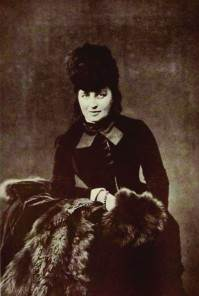 О. Новикова, фотография 1887 г.