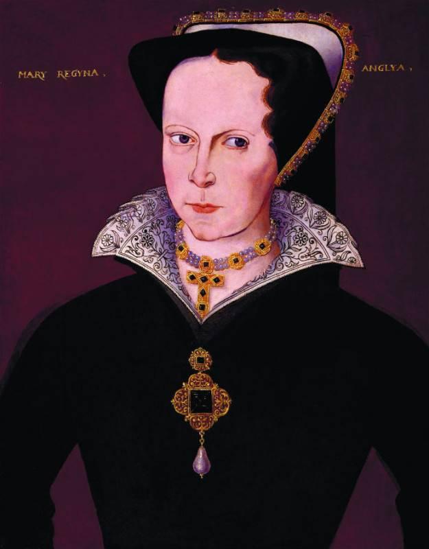 Портрет Марии Тюдор с жемчужиной «Перегрина»